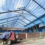Struktur Baja GedungSurabaya, Jawa Timur
