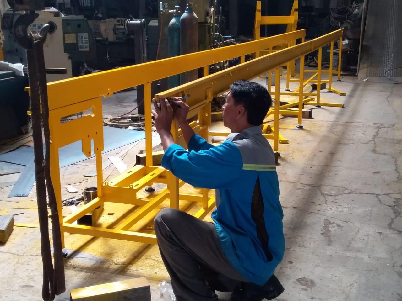 Fabrikasi conveyor – PT Limas Anugrah Steel