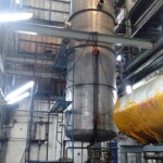 Pemasangan Reaktor TankSurabaya, Jawa Timur